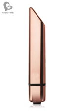 Stimulateur Bamboo 10 - Rocks Off - Un petit vibro discret et élégant,  ressemblant à un rouge à lèvres classe et doté de 10 modes de vibrations puissants.