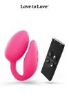 La marque Love to Love vous propose sa derni�re innovation. Un oeuf vibrant � deux moteurs pour le clitoris et le point-G.