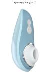Stimulation par pression d'air, 6 niveaux d'intensit�, �tanche, couvercle de protection magn�tique - des orgasmes dans le monde entier.