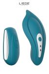 Luxueux mini stimulateur clitoridien t�l�command� chauffant avec sa culotte sp�ciale fournie pour un confort maxi.