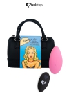 Pr�sent� dans un superbe mini sac � main, Feelztoys vous propose un stimulateur clitoridien t�l�command� tr�s puissant.