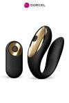 Luxueux stimulateur t�l�command� sp�cial couple, discret, puissant, 10 modes de vibrations, par Dorcel.