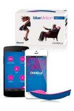 Vibromasseur OhMiBod Blue Motion - Avec OhMiBod - bluemotion, connectez vous de n'importe où, quand vous voulez pour lui donner du plaisir.
