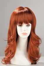 Perruque Fiona - Perruque longue dégradée avec une frange effilée, pour être sexy et féminine.