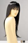 Perruque longue avec une frange, ses mèches lisses vous donnent une allure sensuelle et féminine.