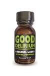 Good Délirium est un poppers aux effets intenses, à base d'isopropyle, en flacon concentré de 13ml.