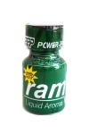 Le c�l�bre poppers Ram et son flacon vert! Un poppers puissant et pur � base d'isopropyle.
