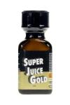 Le poppers Super Juice gold est un ar�me puissant et fort � base de nitrite de Pentyle, en grand flacon de 24 ml.