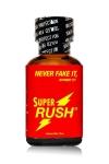 Le poppers Super Rush est un ar�me puissant et fort � base de nitrite de Pentyle, en grand flacon de 24 ml.