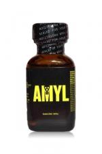 Poppers Amyl 24 ml - Poppers au véritable nitrite d'Amyle en flacon de 24 ml.