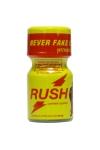 Avec son flacon jaune, on le reconnait entre tous: Poppers Rush, exigez l'original!