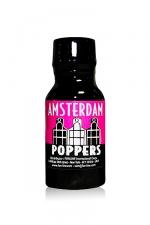 Poppers Amsterdam Juice 13 ml - Arôme liquide aphrodisiaque puissant, à base de Nitrite d'isopropyle en flacon de 13 ml.