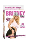 Poup�e gonflable � l'image de  Britney Bitch avec 3 orifices utilisables.