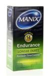 MANIX Endurance formule TimeControl favorise le contrôle de l'éjaculation et prolonge vos rapports sexuels.