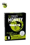 3 pr�servatifs verts, gout menthe, cylindriques, lisses, lubrifi�s, par Crazy Monkey.