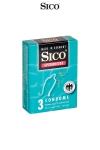 3 pr�servatifs haute qualit� b�n�ficiant d'une protection suppl�mentaire gr�ce � un rev�tement spermicide.