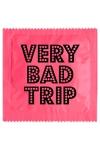 Pr�servatif  Very Bad Trip , un pr�servatif personnalis� humoristique de qualit�, fabriqu� en France, marque Callvin.
