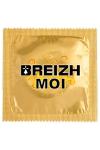 Pr�servatif  Breizh Moi , un pr�servatif personnalis� humoristique de qualit�, fabriqu� en France, marque Callvin.