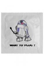 Préservatif humour - Want To Plug - Préservatif  Want To Plug , un préservatif personnalisé humoristique de qualité, fabriqué en France, marque Callvin.