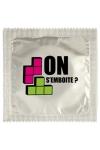 Pr�servatif  On S'emboite , un pr�servatif personnalis� humoristique de qualit�, fabriqu� en France, marque Callvin.