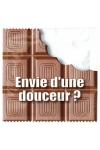 Pr�servatif  Envie D'une Douceur , un pr�servatif personnalis� humoristique de qualit�, fabriqu� en France, marque Callvin.