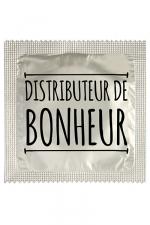 Préservatif humour - Distributeur De Bonheur - Préservatif  Distributeur De Bonheur , un préservatif personnalisé humoristique de qualité, fabriqué en France, marque Callvin.