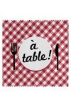 Pr�servatif  A Table , un pr�servatif personnalis� humoristique de qualit�, fabriqu� en France, marque Callvin.