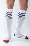 Chaussettes de sport haute qualit�, by Mister B (version blanche).