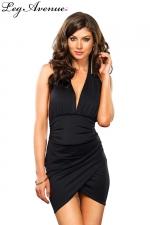 Robe Monica - Cette robe joue avec les drapés pour un style sexy irrésistible.