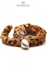 Rosebud Leopard - Un rosebud pour révélez le fauve qui sommeille en vous.