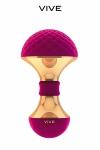 Luxueux stimulateur clitoridien extr�mement doux au toucher � base de silicone haute qualit�.