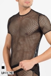 Tee-shirt sexy � large r�sille, pour exhiber vos muscles avec style !