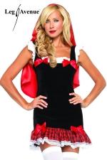 Costume sexy Petit Chaperon Rouge - Il ne vous manque plus qu'un panier de friandises pour attirer les loups gourmands !