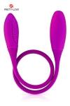 Un double dong vibrant aux 2 extr�mit�s, long et flexible pour de multiples plaisirs en solo ou en couple.