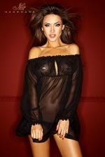 Robe Bad Midness - Robe vaporeuse en voile de mousseline, elle vous habille de légèreté et de transparence.